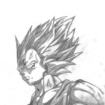 dibujos a lapiz de dragon ball z faciles (10)