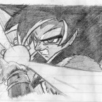 dibujos a lapiz de dragon ball z faciles (8)