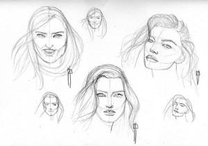 ¿Cómo dibujar a lapiz un rostro (25)