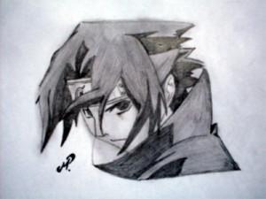 Dibujos a lápiz de Naruto (11)