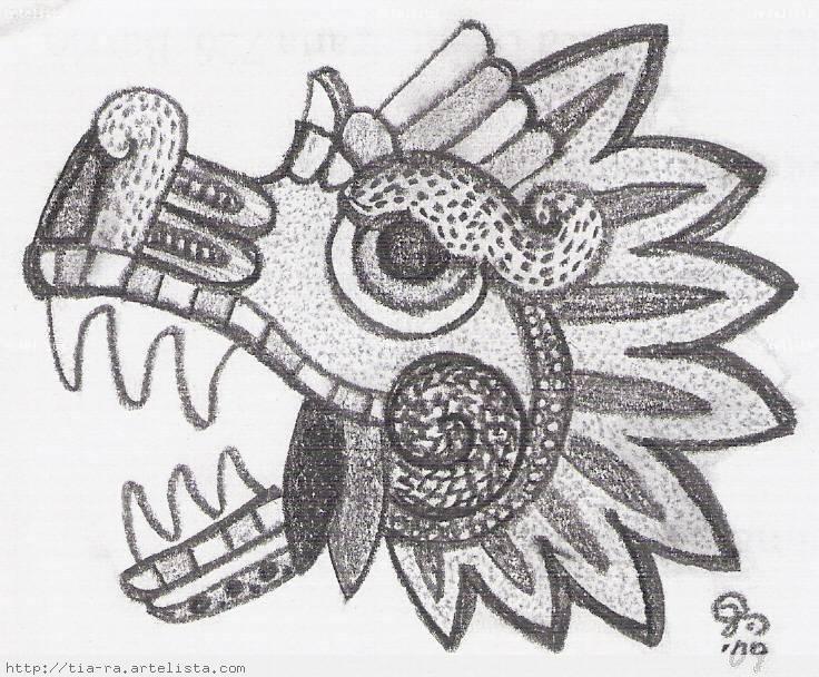 Dibujos A Lápiz Aztecas Dibujos A Lapiz