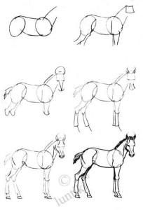 15 ideas simples para comenzar a dibujar a lápiz (13)