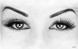 15 imágenes con opciones de dibujos a lápiz de ojos (8)