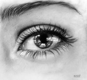 15 opciones de dibujos a lápiz de ojos (5)