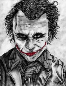 10 Dibujos a lápiz del joker (5)