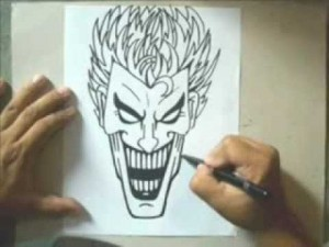 10 Dibujos a lápiz del joker (8)