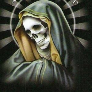 11 dibujos a lápiz de la santa muerte (7)