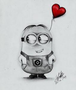 11 nuevos dibujos a lápiz de amor (5)
