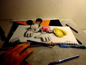 10 interesantes dibujos a lápiz en tercera dimensión (3)