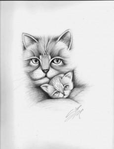 10 dibujos a lapiz de animales (7)