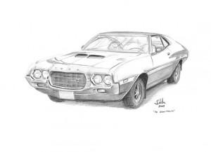 11 Dibujos a lapiz de autos (1)