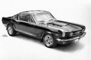 11 Dibujos a lapiz de autos (6)