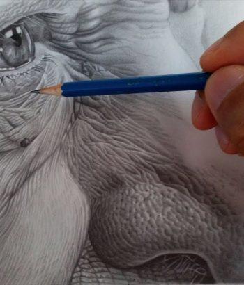 Dibujo-textura-piel-realista